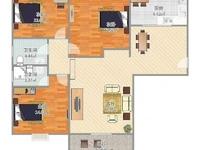 凯旋门 三室两厅一卫 全新装修 南北通透 学区房